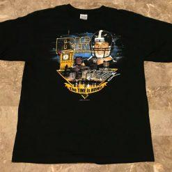 2004 Ben Roethlisberger BIG BEN Steelers Rookie Year Graphic T Shirt Adult Sz L
