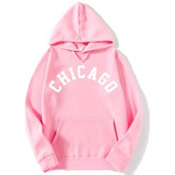 2018 New Fashion CHICAGO City Band Winter Bomber Hoodies men Jackets Casual Hip Hop Mens Hoodies 1