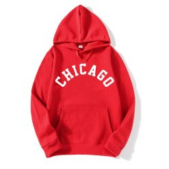 2018 New Fashion CHICAGO City Band Winter Bomber Hoodies men Jackets Casual Hip Hop Mens Hoodies 2