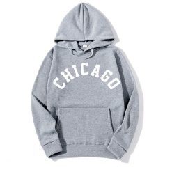 2018 New Fashion CHICAGO City Band Winter Bomber Hoodies men Jackets Casual Hip Hop Mens Hoodies 3