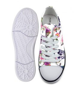 3D Suger Skull Men Women Low Top Casual Canvas Shoes Sport AP19001