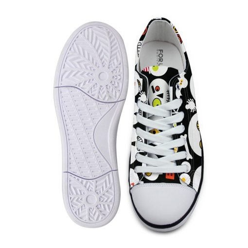 3D Suger Skull Men Women Low Top Casual Canvas Shoes Sport AP19002