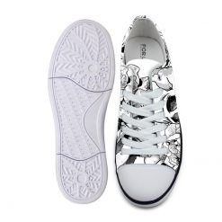 3D Print Suger Skull Men Women Low Top Casual Canvas Shoes Sports AP19004