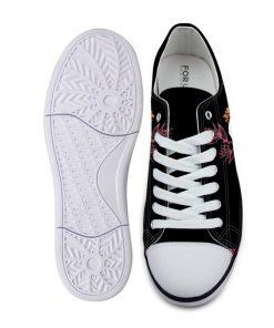 3D Suger Skull Men Women Low Top Casual Canvas Shoes Sports AP19024