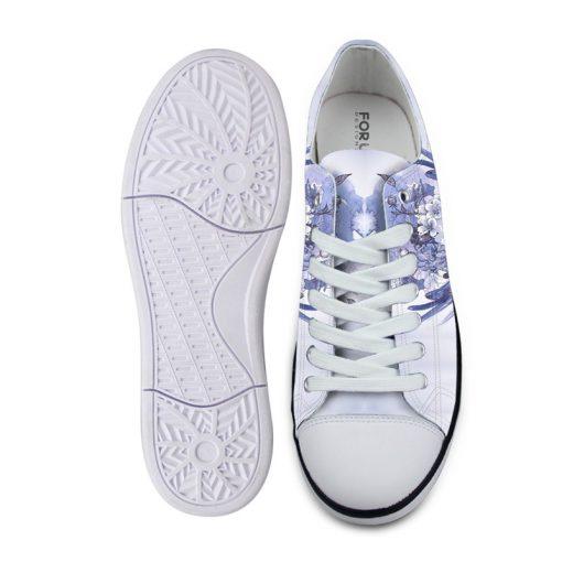 3D Suger Skull Men Women Low Top Casual Canvas Shoes Sports AP19025