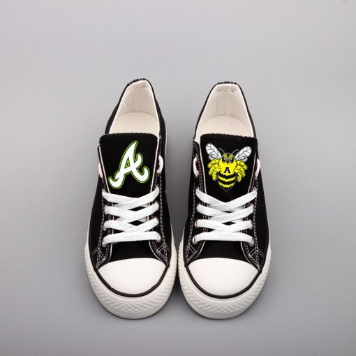 Academy Bees Limited High School Low Top Canvas Sneakers