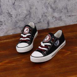Alabama Crimson Tide Limited Fans Low Top Canvas Sneakers