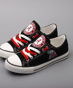 Alabama Crimson Tide Limited Low Top Canvas Sneakers