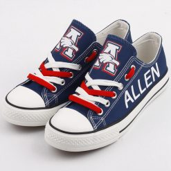 Allen Eagles Limited High School Students Low Top Canvas Sneakers