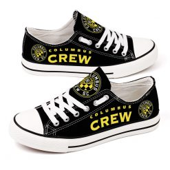 Columbus Crew SC Canvas Shoes Sport