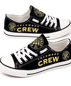 Columbus Crew SC Canvas Shoes Sport