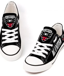 D.C. United Printed Canvas Shoes Sport