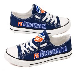 FC Cincinnati Canvas Shoes Sport