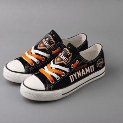 Houston Dynamo Canvas Shoes Sport