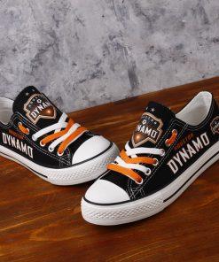 Houston Dynamo Canvas Shoes Sport