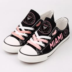 Inter Miami C.F Printed Canvas Shoes Sport