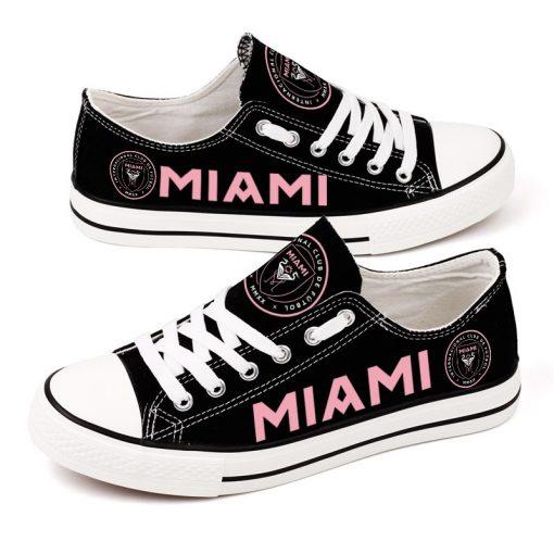 Inter Miami C.F Printed Canvas Shoes Sport