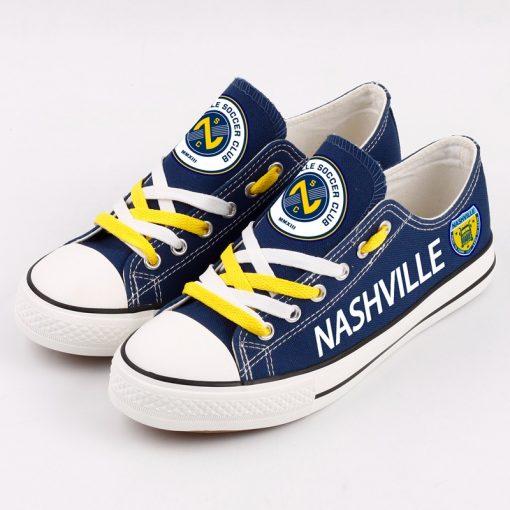 Nashville SC Printed Canvas Shoes Sport