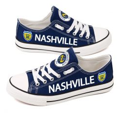 Nashville SC Printed Canvas Shoes Sport
