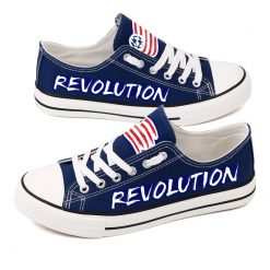 New England Revolution Canvas Shoes Sport