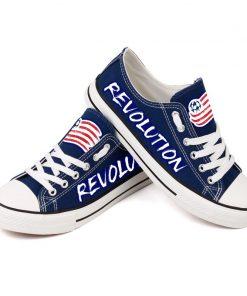 New England Revolution Canvas Shoes Sport