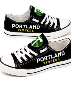 Portland Timbers Canvas Shoes Sport