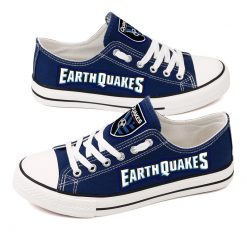San Jose Earthquakes Canvas Shoes Sport
