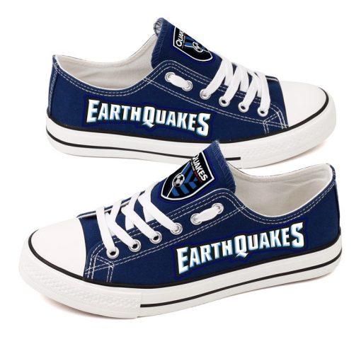 San Jose Earthquakes Canvas Shoes Sport