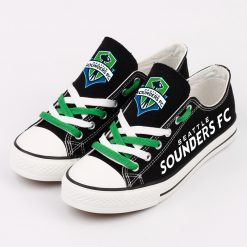 Seattle Sounders FC Canvas Shoes Sport
