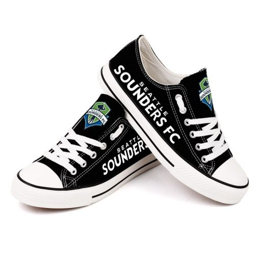 Seattle Sounders FC Canvas Shoes Sport