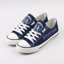 Sporting Kansas City Canvas Shoes Sport