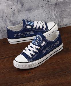 Sporting Kansas City Canvas Shoes Sport