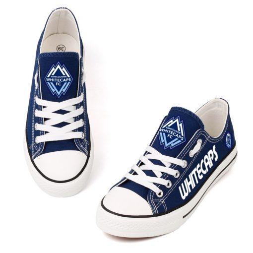 Vancouver Whitecaps Canvas Shoes Sport