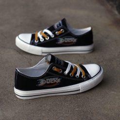 Anaheim Ducks Limited Low Top Canvas Shoes Sport
