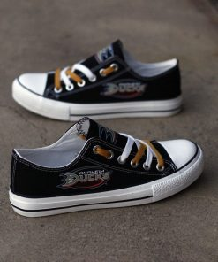 Anaheim Ducks Limited Low Top Canvas Shoes Sport