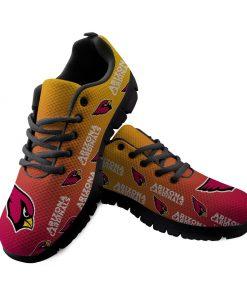 Arizona Cardinals Custom 3D Print Running Sneakers