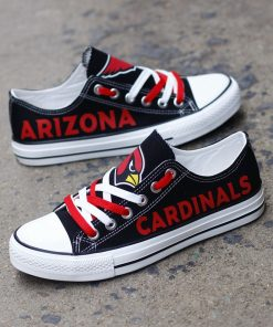 Arizona Cardinals Limited Low Top Canvas Sneakers