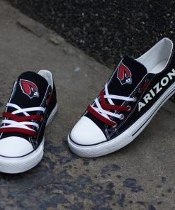 Arizona Cardinals Limited Print Luminous Low Top Canvas Sneakers