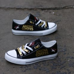Arizona Coyotes Limited Low Top Canvas Sneakers