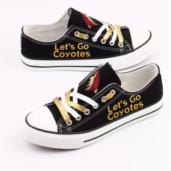 Arizona Coyotes Limited Low Top Canvas Shoes Sport