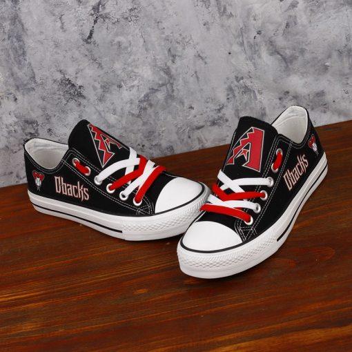 Arizona Diamondbacks Limited Low Top Canvas Shoes Sport