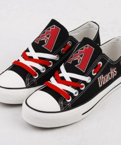 Arizona Diamondbacks Limited Low Top Canvas Shoes Sport