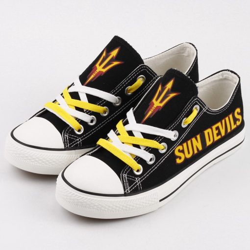 Arizona State Sun Devils Limited Low Top Canvas Shoes Sport