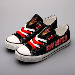 Arizona State Sun Devils Limited Low Top Canvas Sneakers