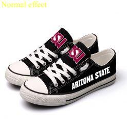 ArizonaStateSunDevils Limited Luminous Low Top Canvas Shoes Sport
