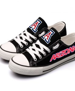 ArizonaWildcats Limited Low Top Canvas Sneakers