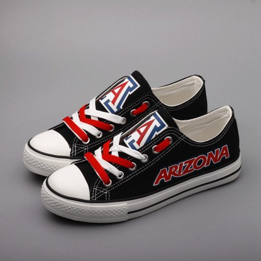 ArizonaWildcats Limited Low Top Canvas Shoes Sport