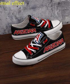 Arizona Wildcats Limited Luminous Low Top Canvas Sneakers