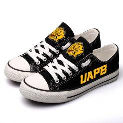 Arkansas-PB Golden Lions Limited Low Top Canvas Sneakers