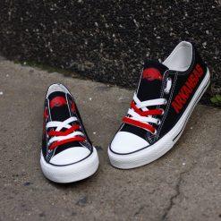 Arkansas Razorbacks Limited Low Top Canvas Sneakers
